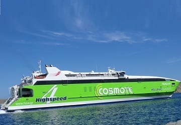 Hellenic Seaways Highspeed Ferry Review And Ship Guide