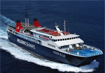 hellenic seaways greek ferries to hydra