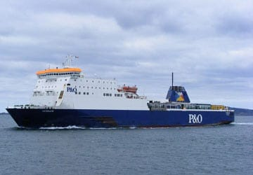 P Amp O Irish Sea Norbank Ferry Review And Ship Guide