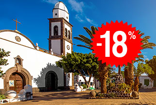 18% off Las Palmas - Lanzarote with Fred Olsen