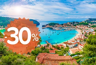 Balearics: up to 30% OFF with Trasmediterranea