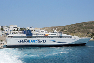 Cyclades islands: save up to 35% with Aegean Speed Lines