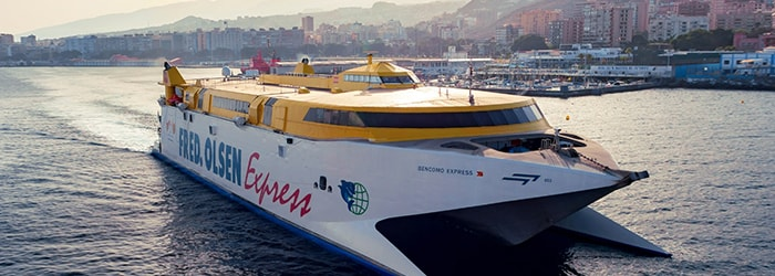 Fred Olsen Express: Gran Canaria-Tenerife from €40