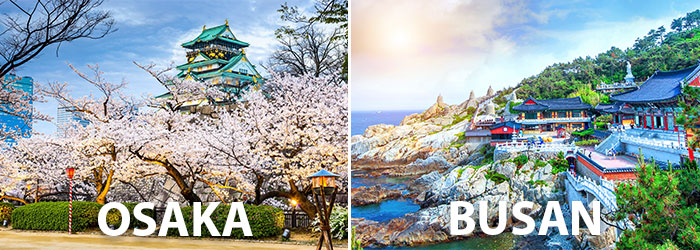 Japan-South Korea: up to 15% OFF with Panstar Cruise