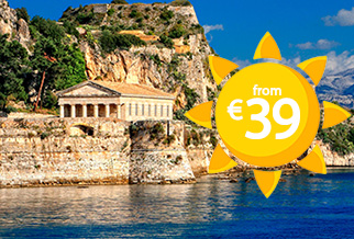 Sail to Corfu for just €39!