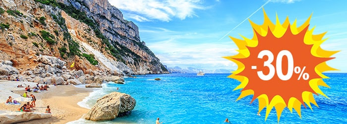 Sardinia & Corsica: get up to 30% OFF
