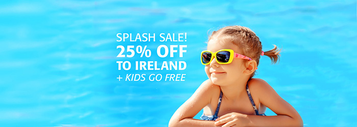 SPLASH SALE! 25% OFF Ferries to Ireland