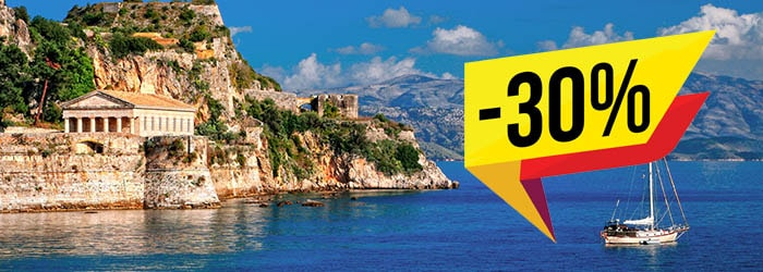 Up to 30% OFF Italy - Greece ferries